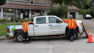 Lakeland Networks installing fibre internet