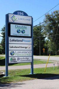 Lakeland Holdings Company Sign