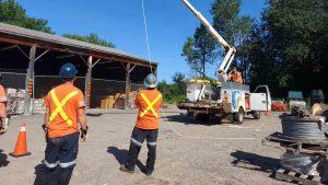 Wasauksing First Nation Fibre Internet Build